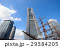 横浜ランドマークタワー ランドマークタワー 帆船の写真 29384205