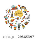Australia icons set, sketch for your design 29385397