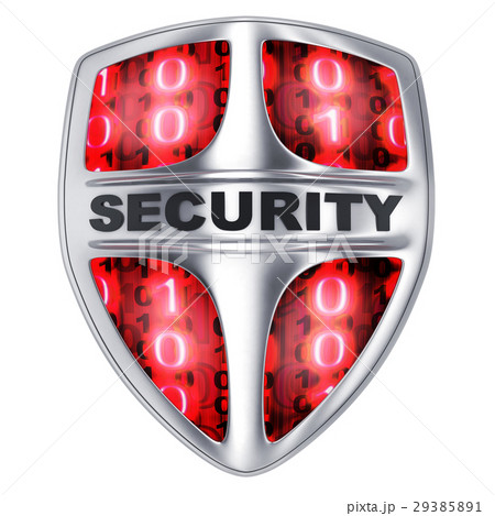 Shield security red 29385891