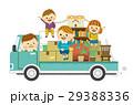 引っ越し トラック 積み荷のイラスト 29388336