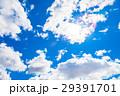 空 青空 雲の写真 29391701