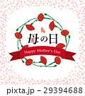 母の日 カーネーション ロゴのイラスト 29394688