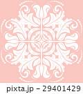 ピンク色 フローラル ビクトリア朝のイラスト 29401429