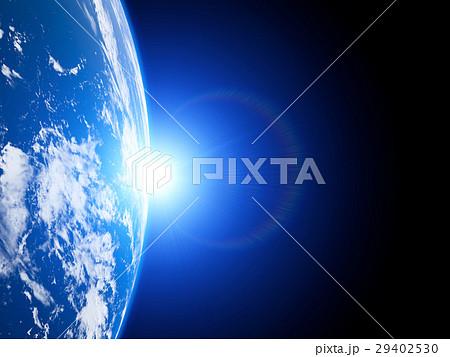 陽が昇る地球 29402530