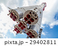 Monument of russian space rocket Vostok one 29402811