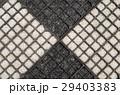 Black and white gravel textured background 29403383