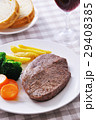 ビーフステーキ(国産牛肉) 29408385