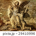 Jacob wrestling with the angel of god, graphic 29410996