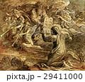 Moses receiving the ten commandments from God 29411000