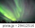 オーロラ イエローナイフ 夜空の写真 29412516
