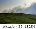 山 登山 草原の写真 29413254