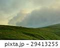 山 登山 草原の写真 29413255