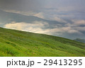 山 夏山 草原の写真 29413295