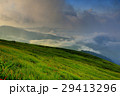 山 夏山 草原の写真 29413296