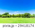 青空 広場 芝生の写真 29418174