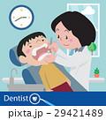 歯医者 歯科医 歯科医師のイラスト 29421489