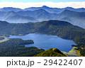 燧ヶ岳から見る尾瀬沼と日光方面の山並み 29422407