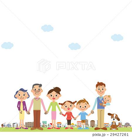 三世代家族と街 29427261