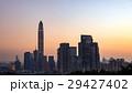 蓮花山公園から望む中国・深センの夕景 29427402