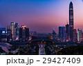 蓮花山公園から望む中国・深センの夕景 29427409
