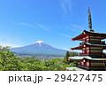 富士山 山 建物の写真 29427475