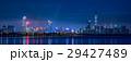 中国 深センの高層ビル群夜景 ワイドパノラマ 29427489