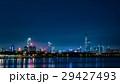 中国 深センの高層ビル群夜景 29427493