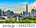 中国・深センの高層ビル群の風景 29427625