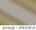 波のイメージの和柄背景 金と藍色 29433814
