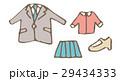 洋服のセット【線画・シリーズ】 29434333