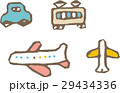 乗り物【線画・シリーズ】 29434336