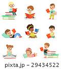 楽しんで 読書 ブックのイラスト 29434522