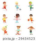 ふざける 陽気 遊ぶのイラスト 29434523
