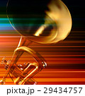 abstract grunge background with trumpet 29434757