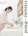 主婦 皿洗い 29434814