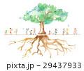 公園 子ども 木のイラスト 29437933