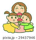 お母さんと子供達(カーネーション) 29437946