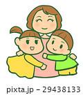 お母さんに抱きつく子供 29438133