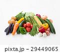 野菜 沢山 白バックの写真 29449065