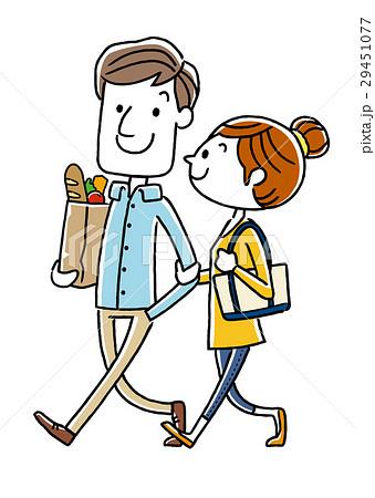 若い夫婦、カップル、仲良し 29451077