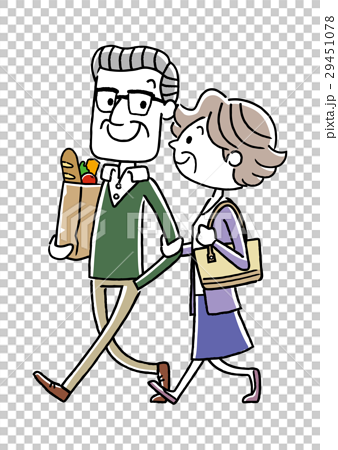 シニア夫婦、カップル、仲良し 29451078