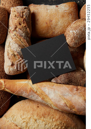 Different kinds of bread on background 29452255