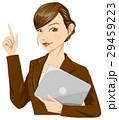女性 ビジネスウーマン 人物のイラスト 29459223