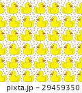 あひる アヒル シームレスのイラスト 29459350