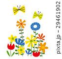 花とチョウチョ 29461902