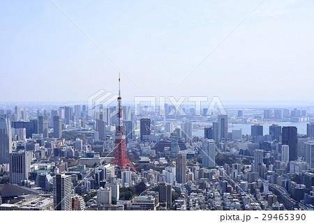東京 都市風景 東京タワー 29465390