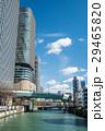 大阪市 ビル 河川の写真 29465820