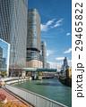 大阪市 ビル 河川の写真 29465822