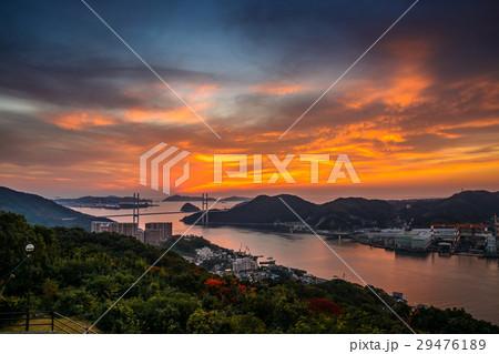 長崎の夕陽 29476189