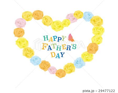 父の日 黄色のバラのカード 29477122